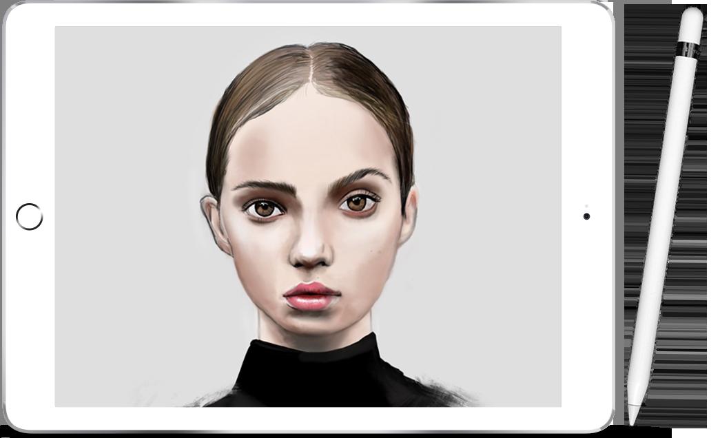 Curso de ilustración digital en Procreate 3