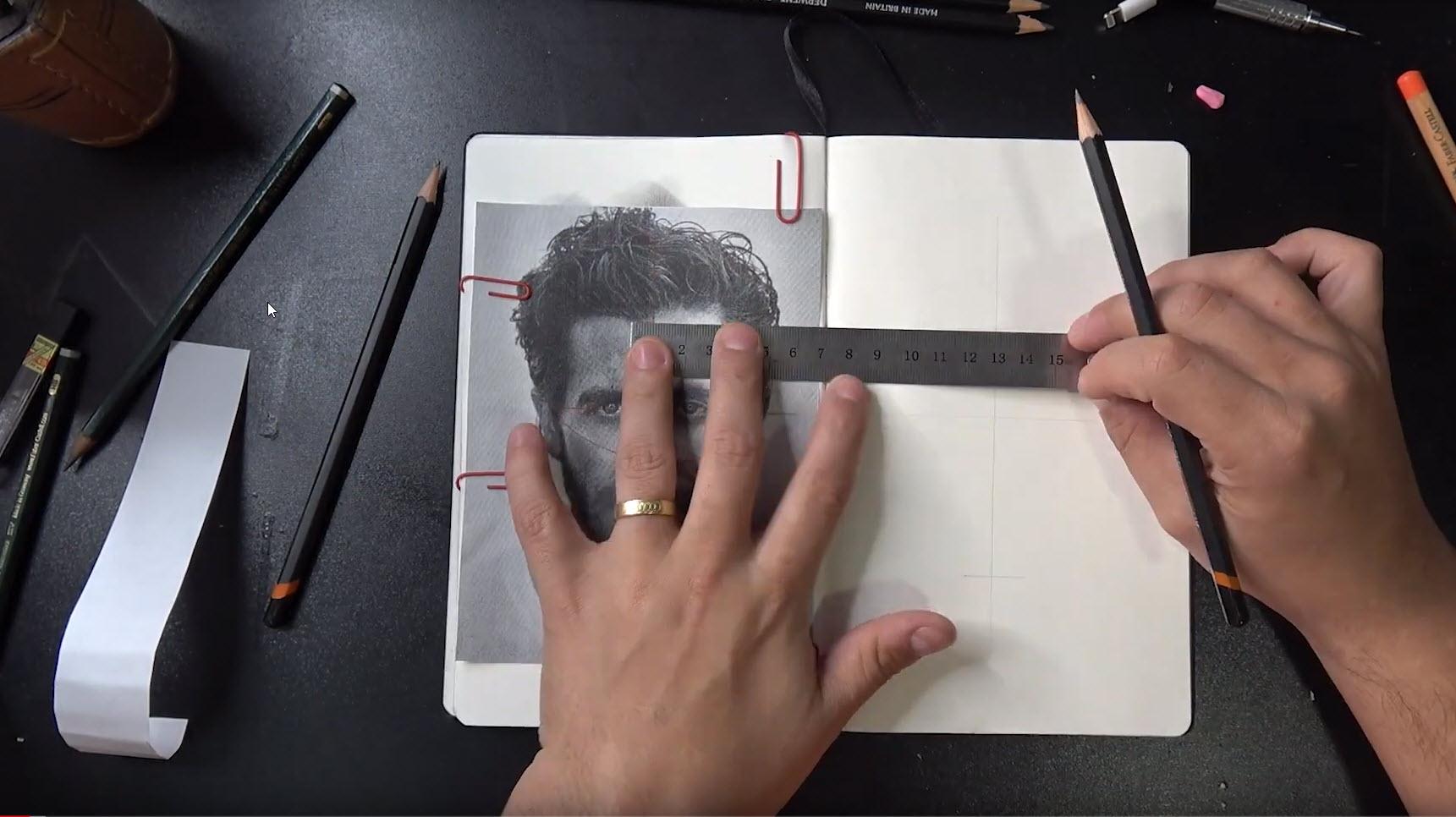 Cómo medir un retrato y mejorar las proporciones 8