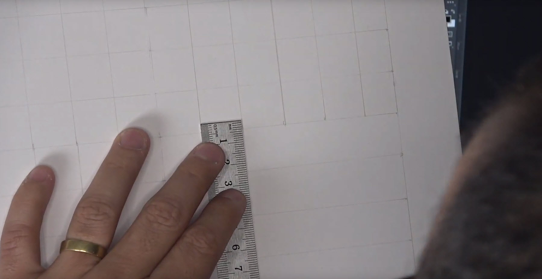 Grilla o cuadrícula en el dibujo – Usar o no usar