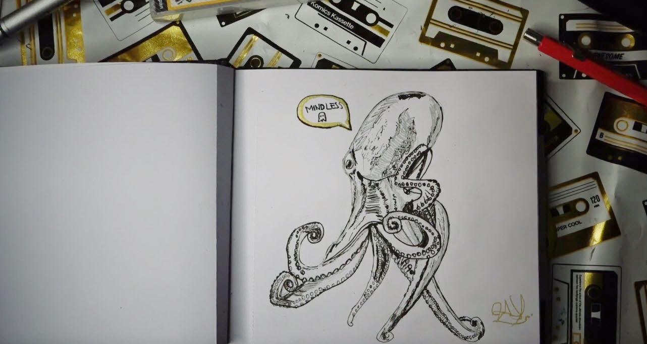 02 Inktober: Perseverancia ¿Cómo ser más constantes en el dibujo a lápiz? 3