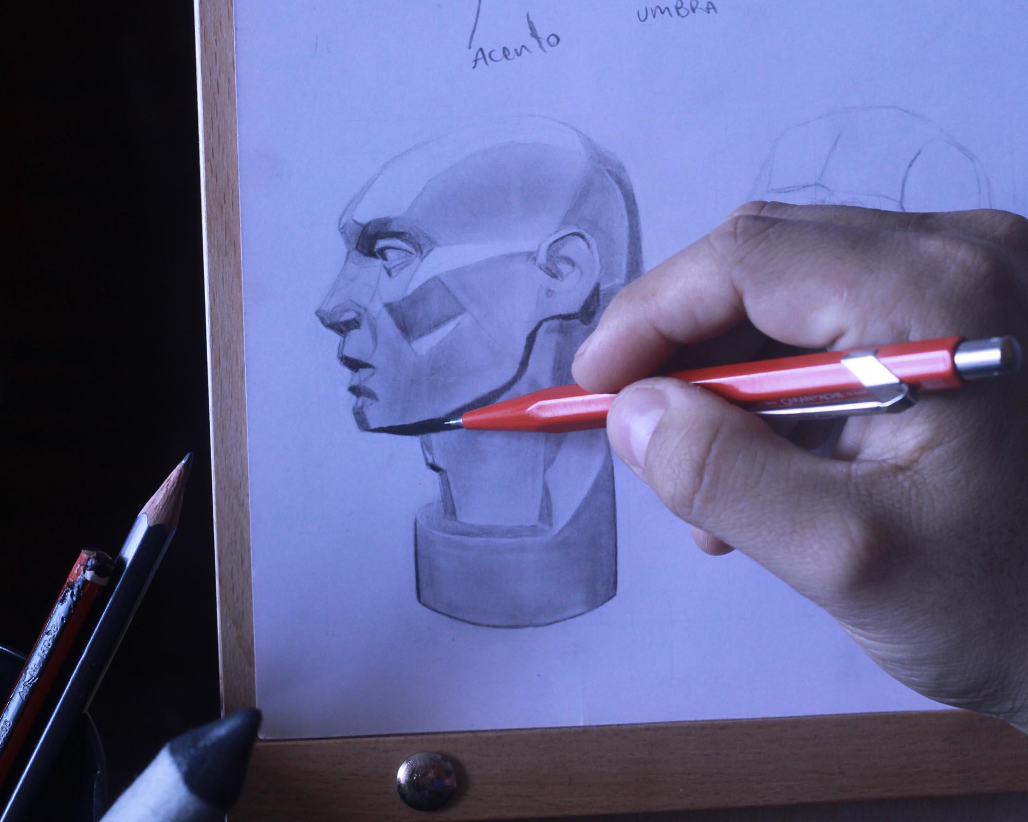 4 claves para mejorar el VOLUMEN en el dibujo de retratos