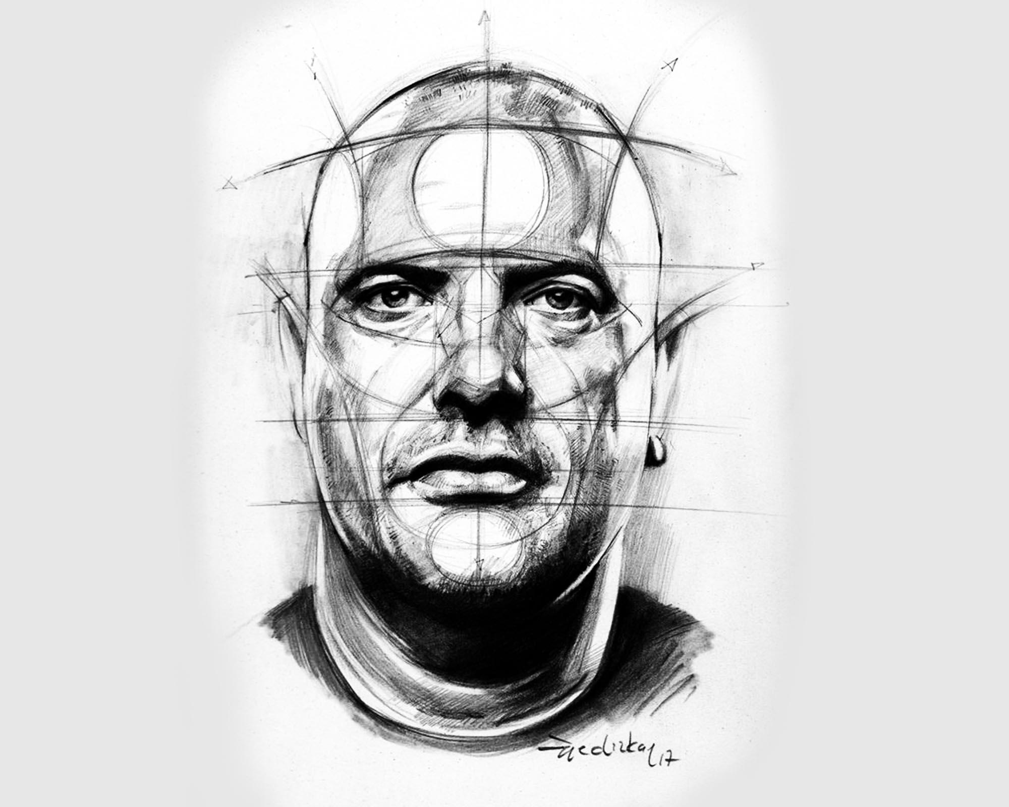 Método Reilly: Las Proporciones de La Cabeza (Parte 1) por Erick Gist